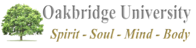 Oakbridge University : Spirit - Soul - Mind - Body